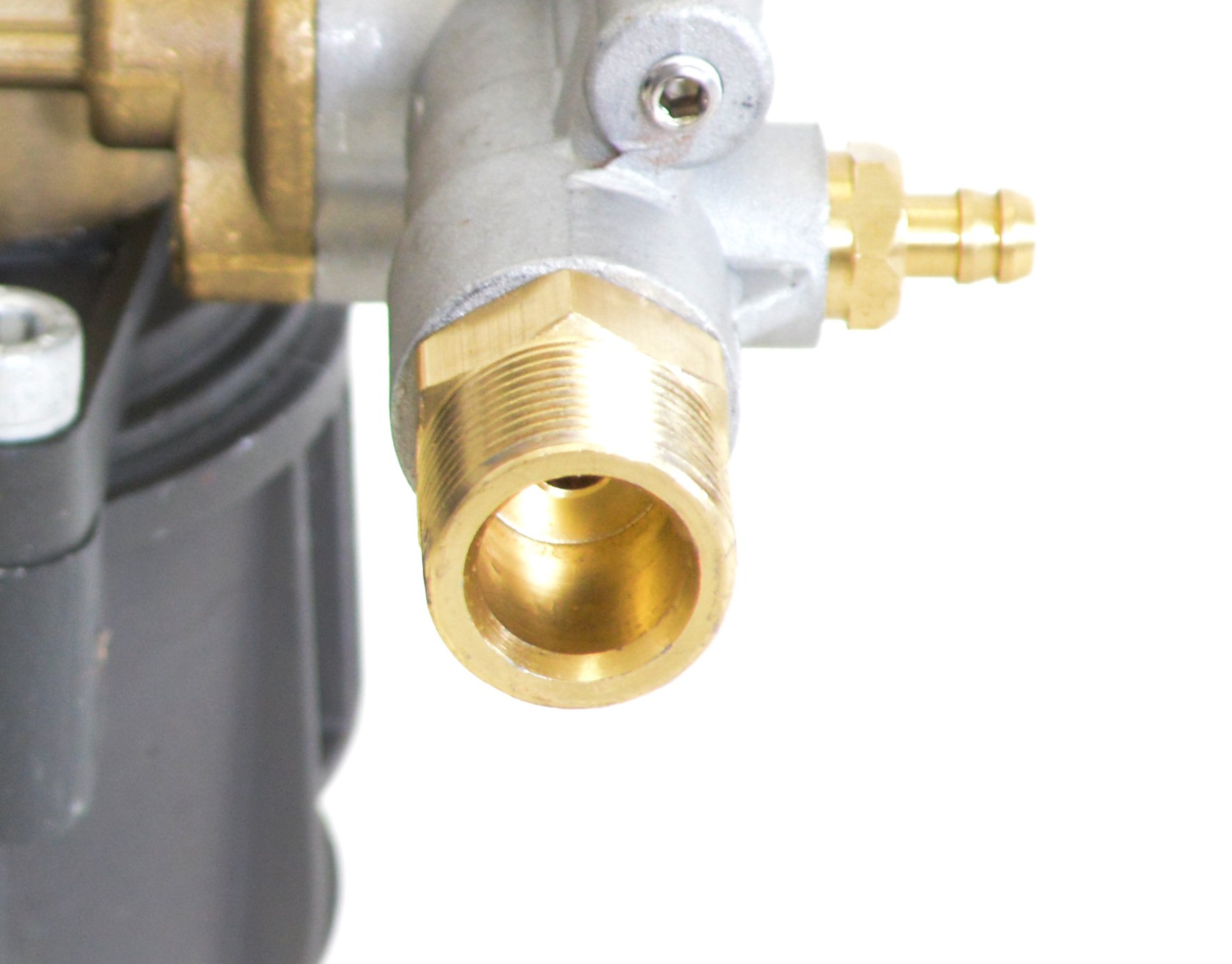 SIMPSON Cleaning 90029 Axial Cam Horizontal Pressure Washer Replacement Pump 8.6CAH12B 3100 PSI @ 2.5 GPM with Brass Head and PowerBoost Technology by Simpson Cleaning (Image #7)