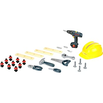 Amazon Com Theo Klein Bosch Toy Tool Set 36 Pieces Toys