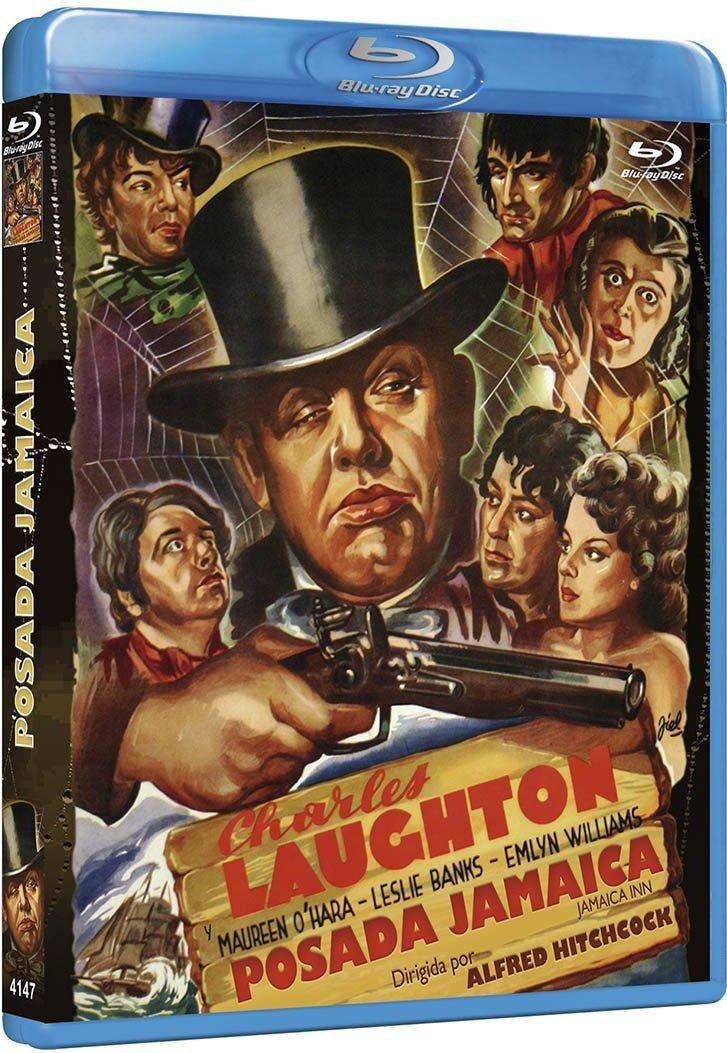 Jamaica Inn aka Posada Jamaica (1939, dir. Alfred Hitchcock) Spanish Resen bootleg Blu-ray