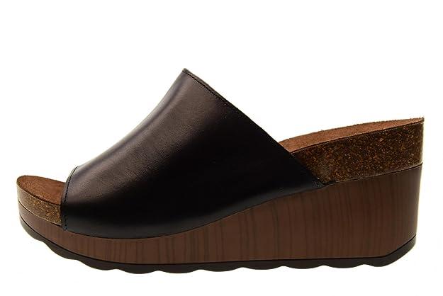 Schuhe Frau Hausschuhe Keil 66304 Schwarz Größe 35 Black Carmela 3UmgpC7fC