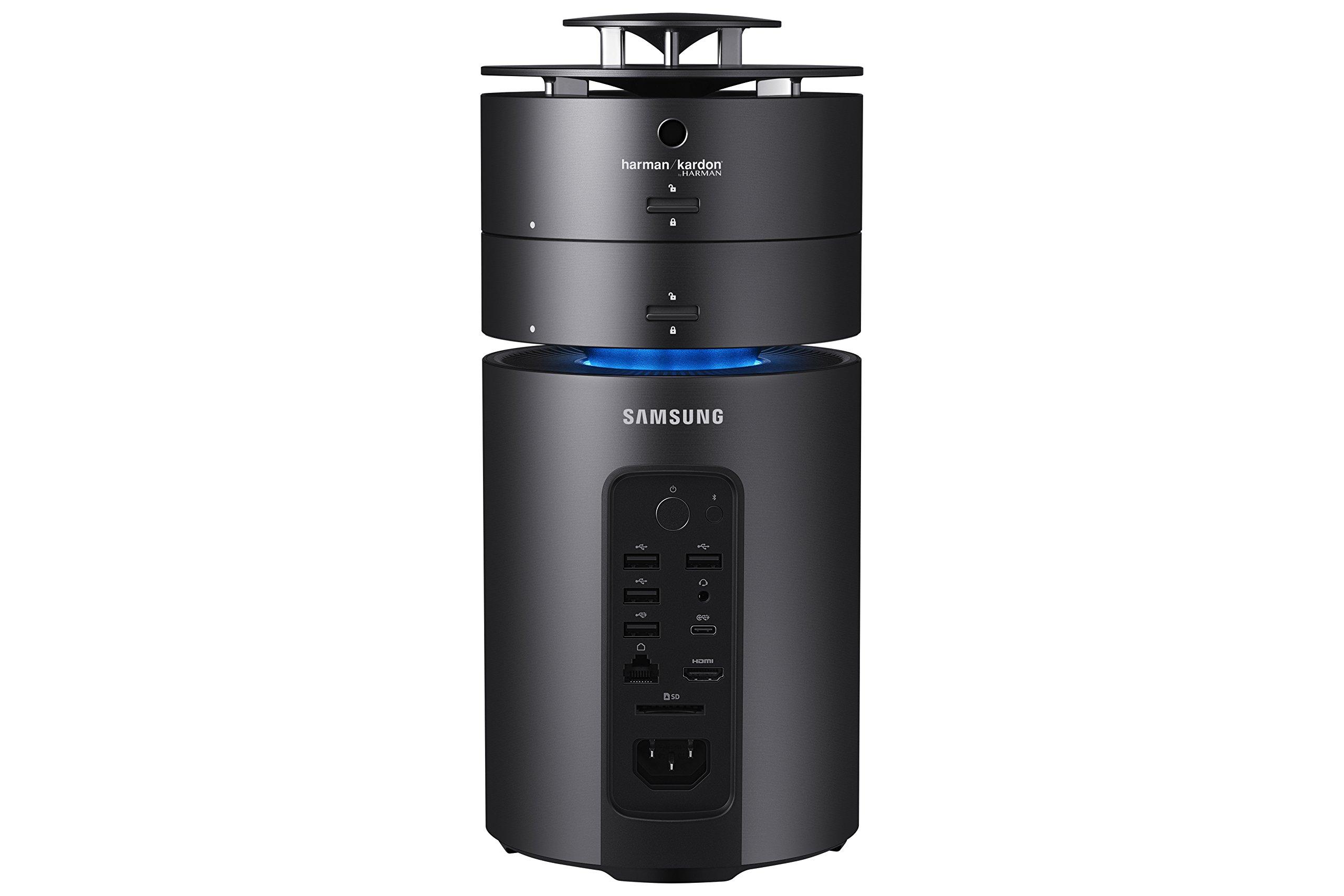 Samsung Electronics DP700C6A-A01US ArtPC Pulse Desktop, Intel i7 256GB SSD, 1TB HDD, Harman Kardon 360 Speaker, AMD Radeon RX 460