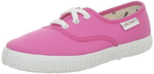 victoria 106613_Rose (Fucsia) - Zapatillas de lona para mujer, color rosa, talla