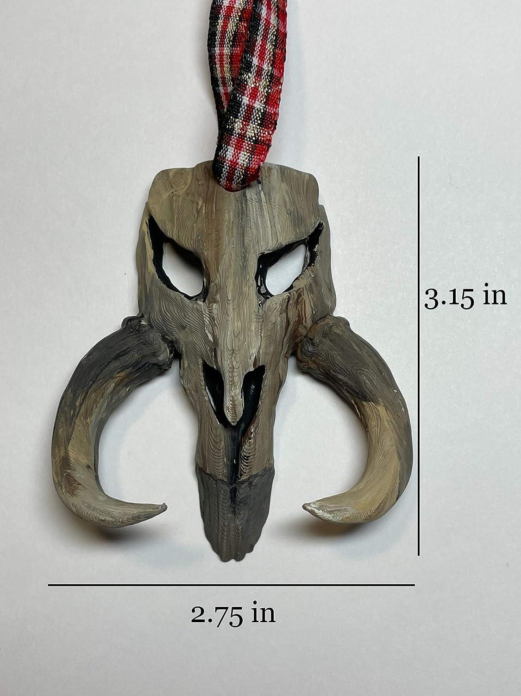 Disneys Boba Fett//Mandalorian Skull Crest from Star Wars Ornament