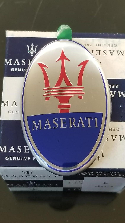 Maserati Quatrroporte,GranTurismo,GranSport Front Bumper Emblem 670101565