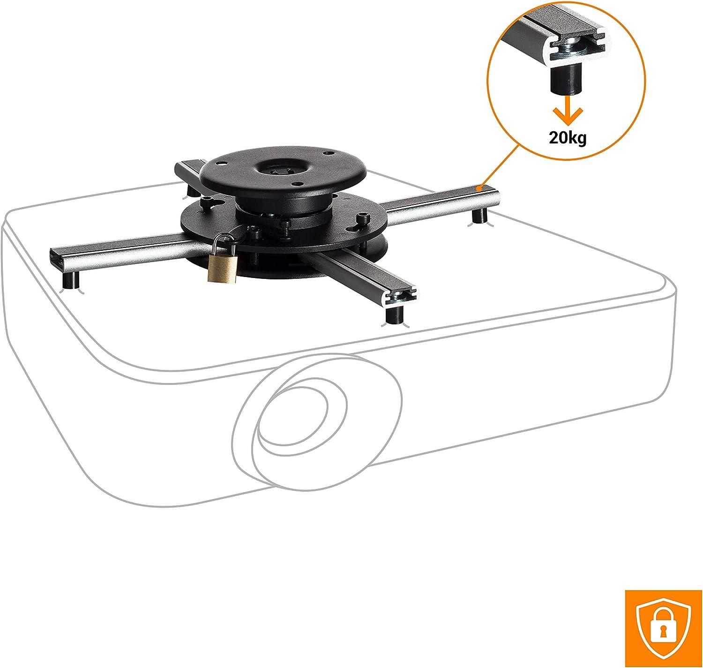 celexon proyector Montaje en Techo Universal PS Ultraflat: Amazon ...