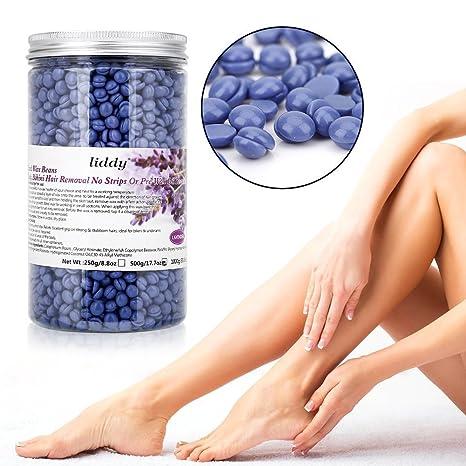 Depilación Hard Wax Beans 500g Depilar Profesional Sin Doloroso para Cuerpo Brazo Pierna de hombres y