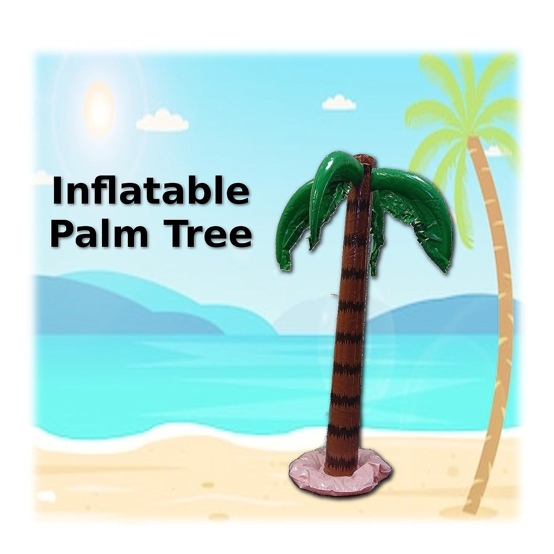 Inflatable 3ft Palm Tree Hawaiian Decoration Fancy Dress