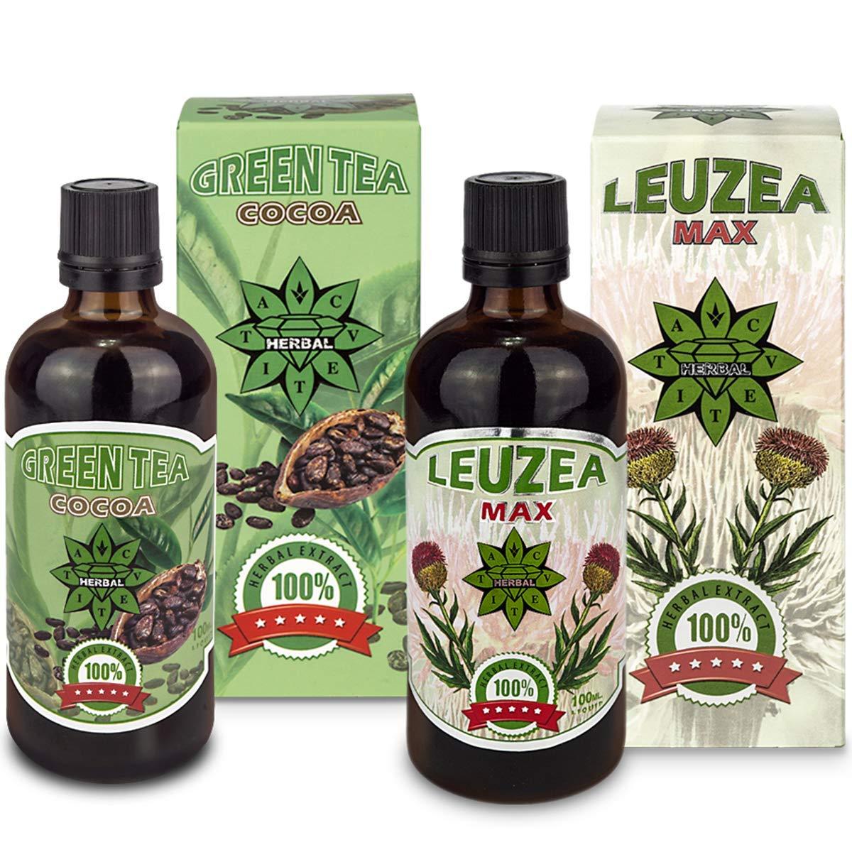 Cvetita Herbal, té verde con del cacao + Leuzea carthamoides ...