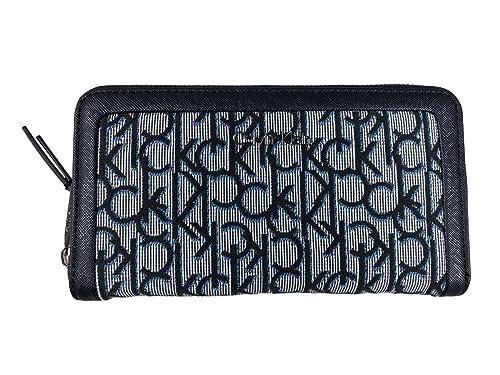 Amazon.com: Calvin Klein - Cartera de mano para mujer, Azul ...