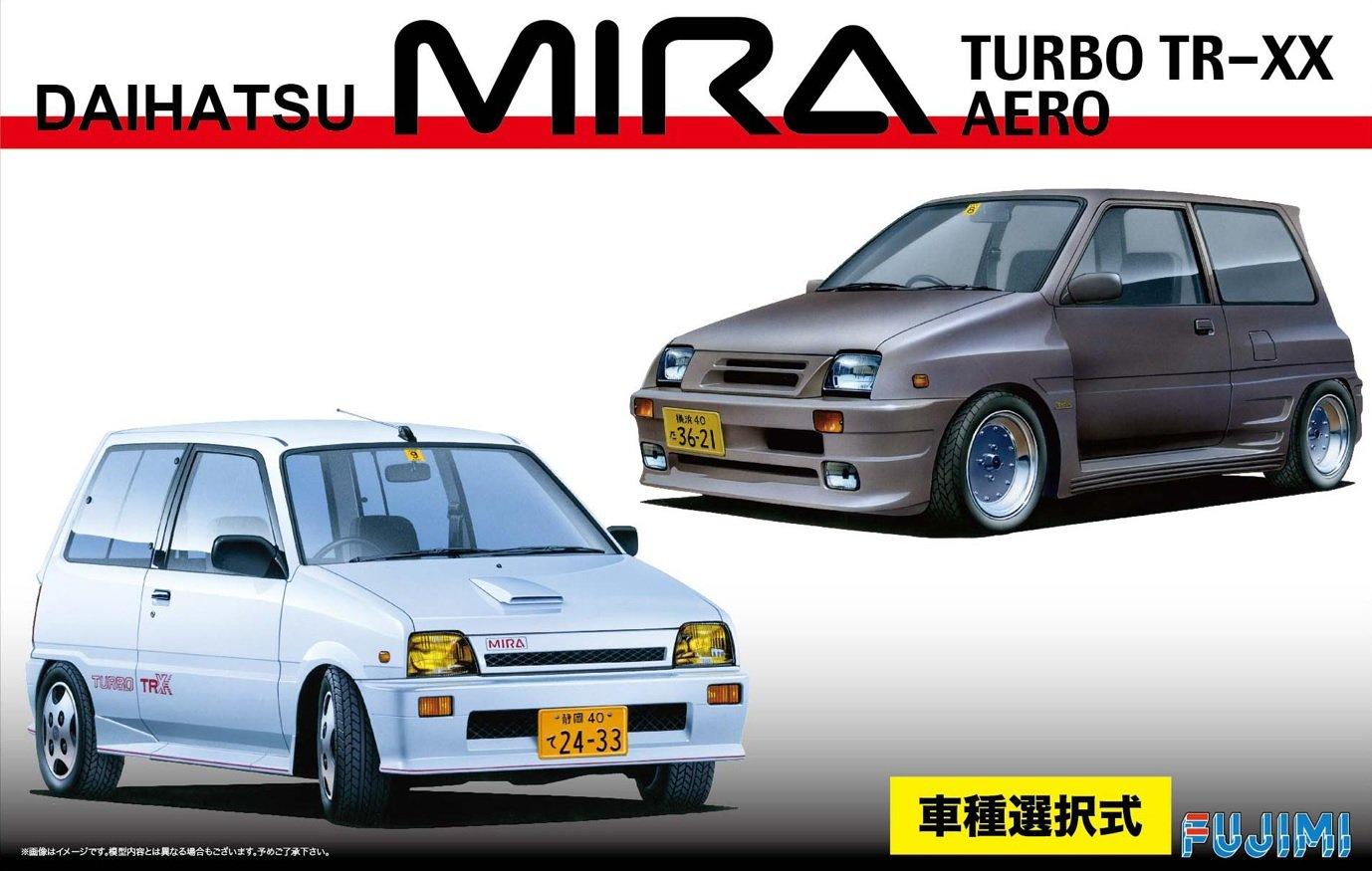 1/24 pulgadas hasta No.153 serie Daihatsu Mira turbo TR-XX / Aero: Amazon.es: Juguetes y juegos
