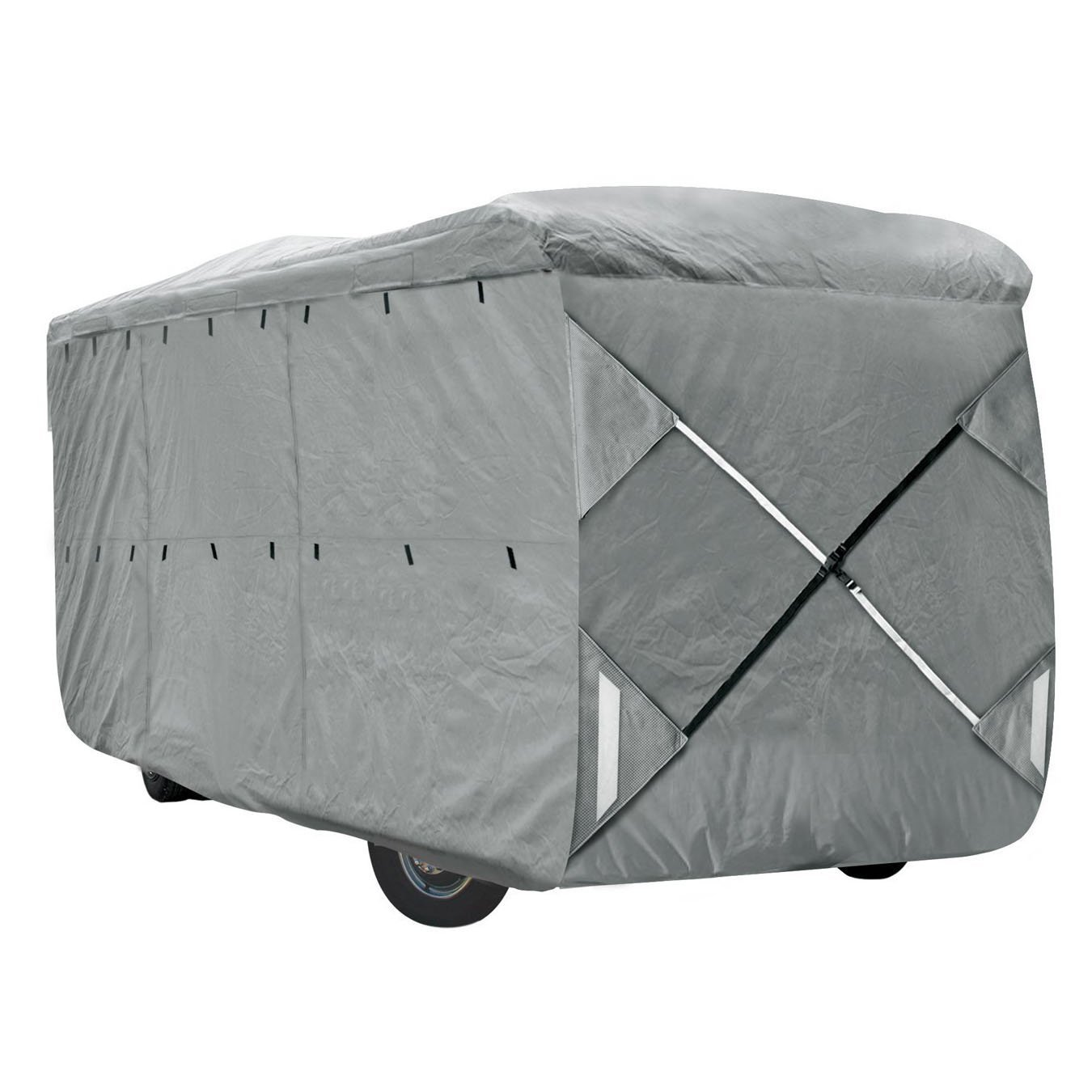 XGear Outdoors Class A RV Cover, Fits 28' - 30' Class A Motorhome, with 3-Ply Roof for Max Weather Protection, Grey by XGear Outdoors