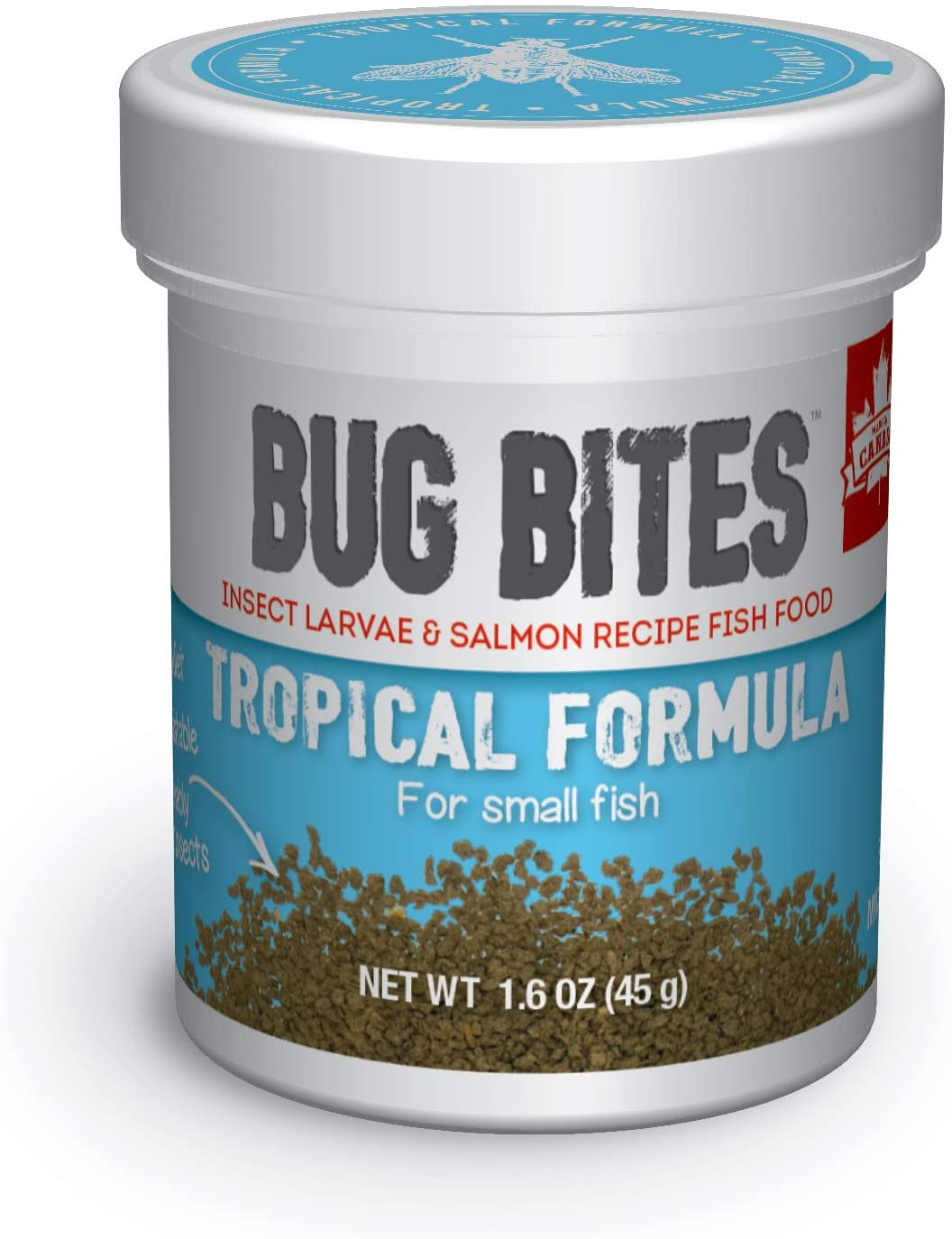 Fluval Bug Bites Granules for Tropical Fish