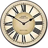 Waterford Wall Clock, Available in 8 sizes, Most Sizes Ship 2 - 3 days, Whisper Quiet.