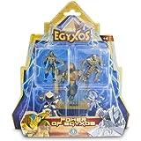 Egyxos Blister con 4personaggi e 4carte (Giochi Preziosi gyx03111)