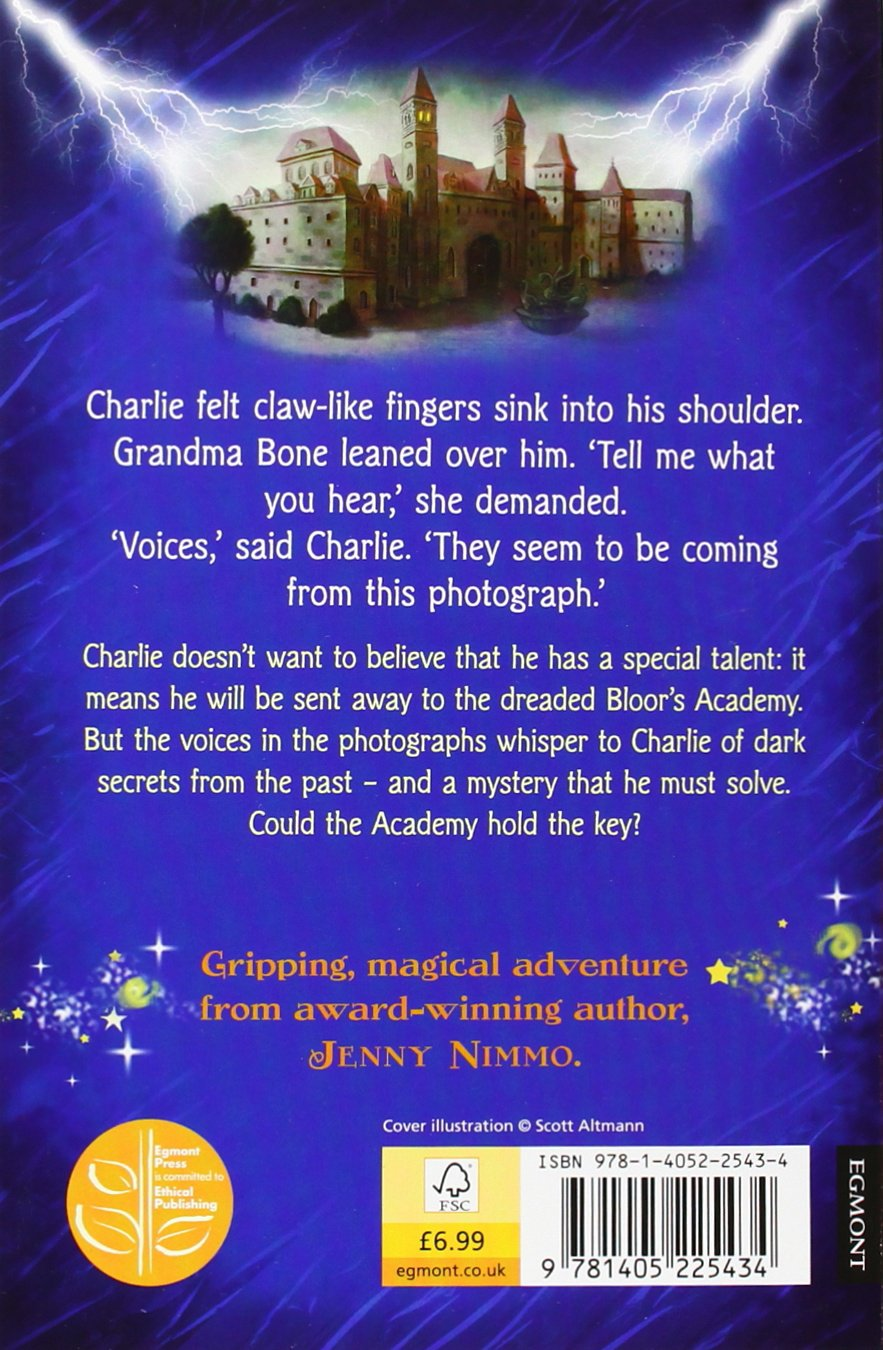 Midnight For Charlie Bone (charlie Of The Red King, Book 1): Jenny Nimmo:  9781405225434: Amazon: Books