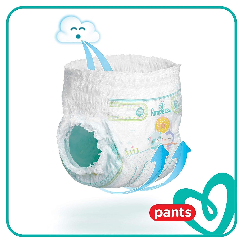 Pampers 81666880 Baby-Dry Pants windelhose wei/ß