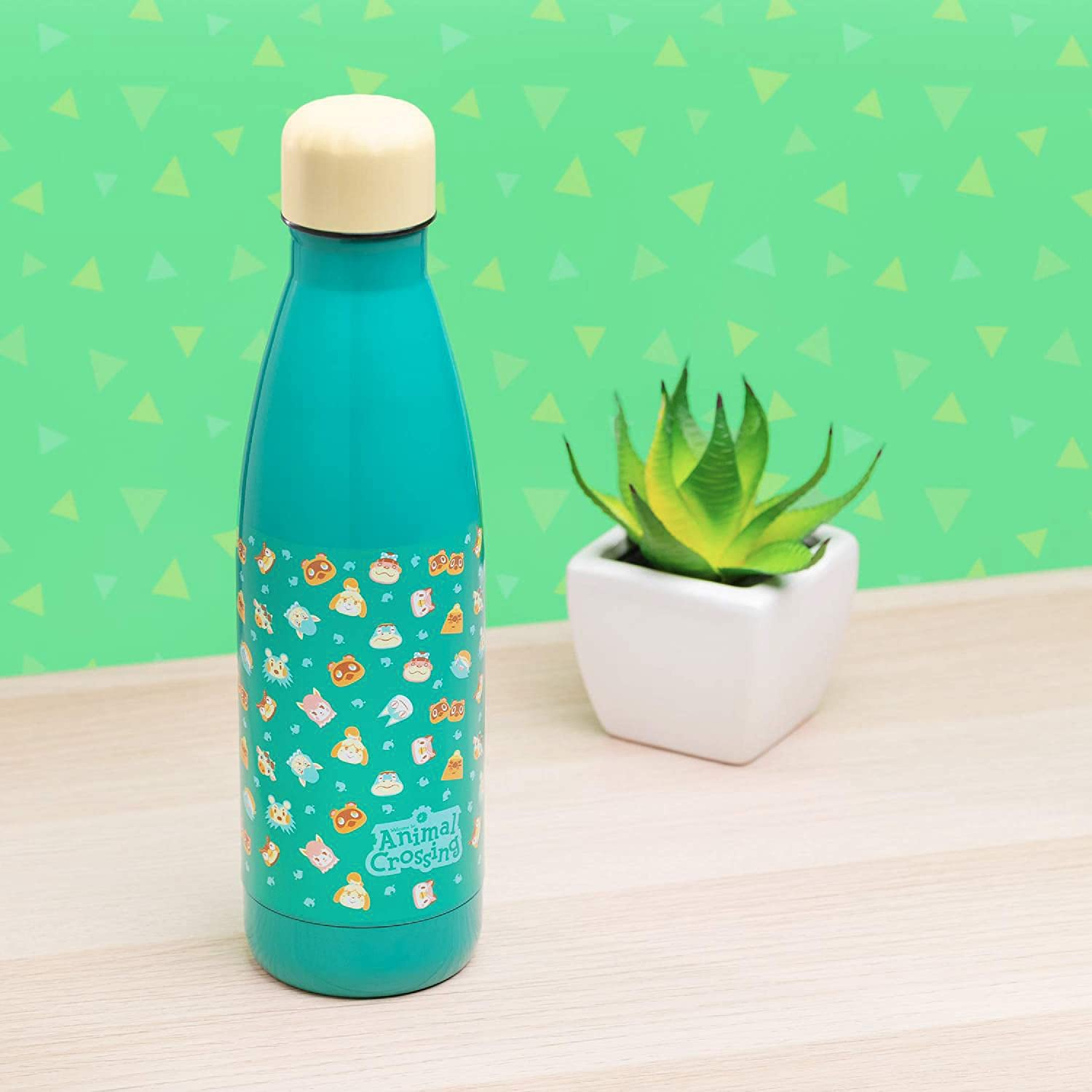 Paladone Animal Crossing Water Bottle Officially Licensed Merchandise