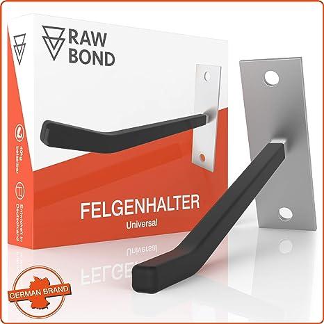 Reifenhalter Wand Felgenbaum Reifenregal 4er Pack Felgen Reifen Wandhalterung
