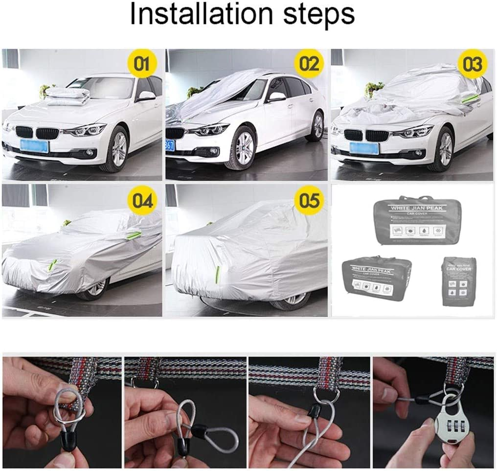 HCH Compatible With Porsche 911 918 924 928 944 968 Waterproof Car cover Full Exterior Covers Waterproof//Snowproof//Sunproof//Dustproof//Scratch Resistant//Oxford cloth