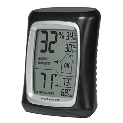 Nice AcuRite 00325 Indoor Thermometer With Digital Hygrometer And Humidity Gauge