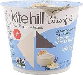 product image for Kite Hill Blissful Decadent Vanilla Bean Cooconut Yogurt, 5.3 Oz (Pack Of 8)