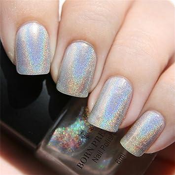 Born Pretty Holographic Holo Glitter Nail Polish Varnish Hologram ...