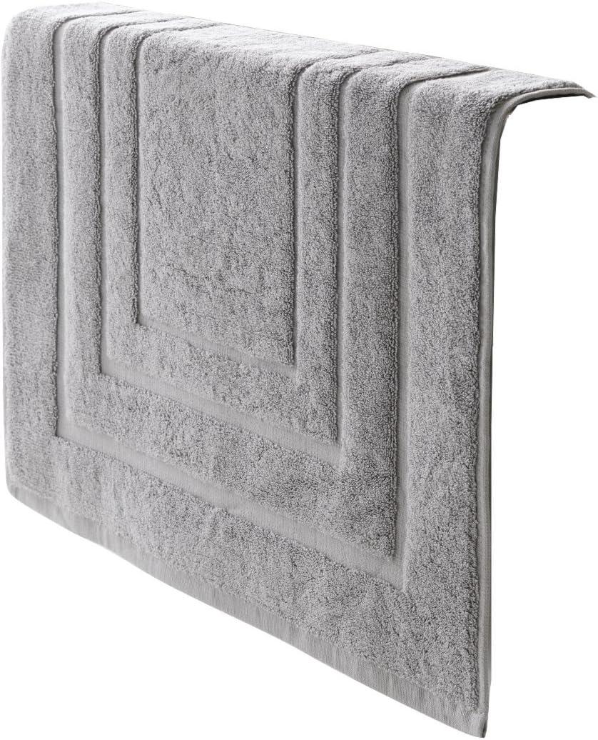 De Witte Lietaer 195199 Alfombra de baño Algodón Gris Claro 75 x 50 cm: Amazon.es: Hogar