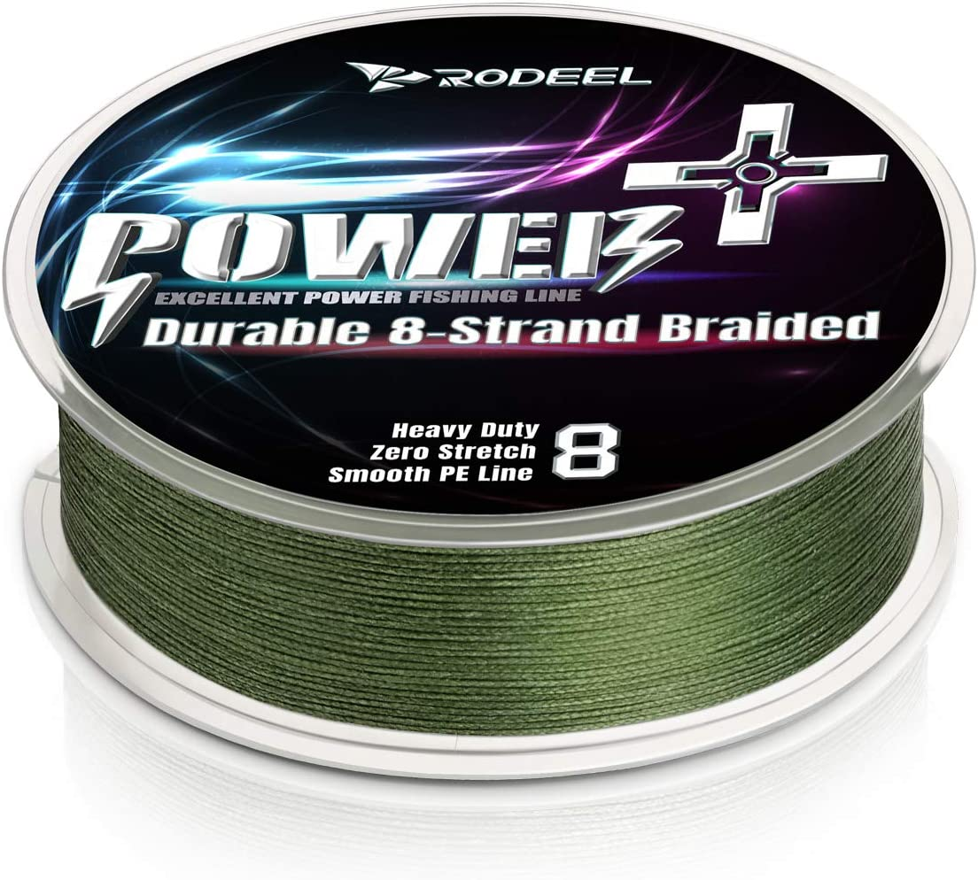 Rodeel 300M Extreme Braided Fishing Line 0.16mm-0.40mm Ultra Strong 8 Strands PE Line 12LB-60LB