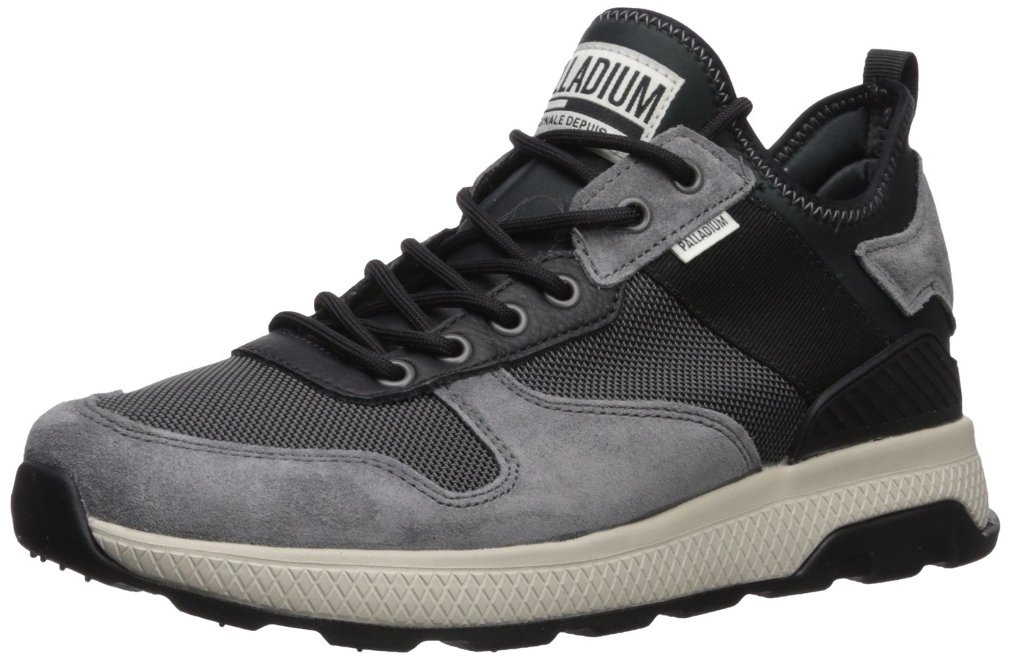 Palladium Men's AX Eon Army Runner Sneaker, Grey, 10 Medium US