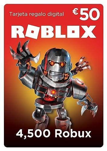 Tarjeta regalo de Roblox - 4,500 Robux: Amazon.es: Videojuegos