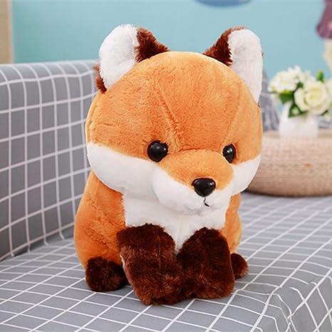 JEWH Soft Cute Long Tail Fox - Plush Toy Stuffed Kids Doll - Fashion Kawaii Gift