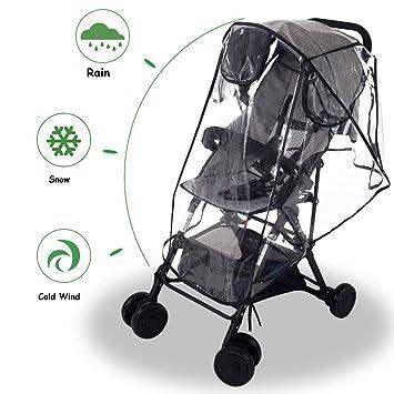 Universal Baby Toddler Pram Stroller PVC WEATHER PROOF RAIN /& WIND COVER