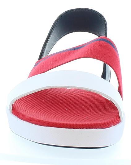 Sandales pour Femme LACOSTE 33CAW1025 VIVONT RS7 RED-NVY EhUmBf3X