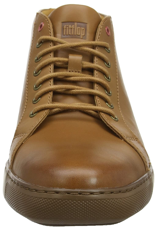 FitFlop Damen Damen FitFlop Andor Tumbled Leder Sneaker Braun (Light Tan 592) 91370b