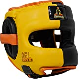 MUGHALS Deluxe Full Face GelLined Sparring Headgear