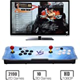 MYMIQEY Pandora Treasure 3D Arcade Game Console | 2200 Retro HD Games | Full HD (