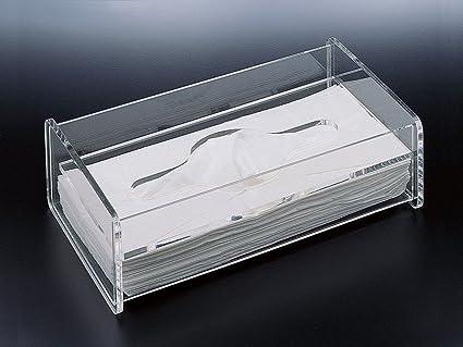 plastic facial tissue box