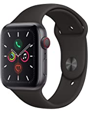 Apple Watch Series 5 (GPS+Cellular, 44mm) - Space Grey Aluminium Case with Black Sport Band