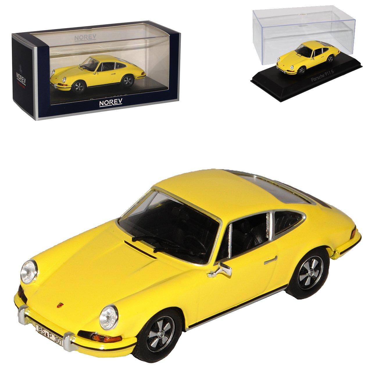 Norev Porsche 911 S 2.4 Urmodell Coupe Gelb 1963-1973 1 43 Modell Auto B073V64WWF Motorfahrzeuge Heißer Verkauf  | Sehr gelobt und vom Publikum der Verbraucher geschätzt