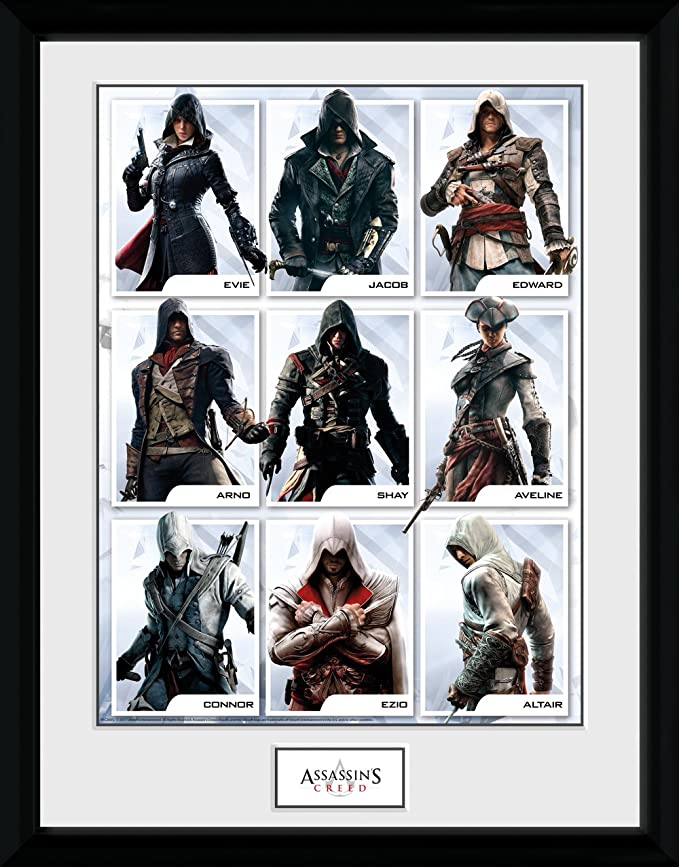 GB Eye LTD, Assassins Creed, Compilation Personajes, Fotografía ...