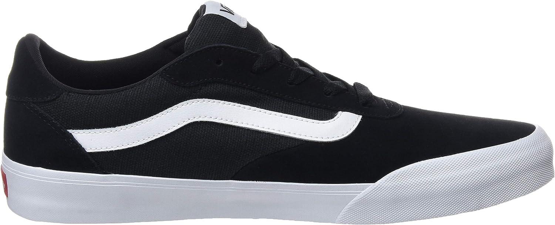 Vans Palomar, Baskets Homme Noir Suede Canvas Black White