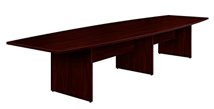Amazoncom HON Preside Table Top Mahogany Kitchen Dining - Hon racetrack conference table