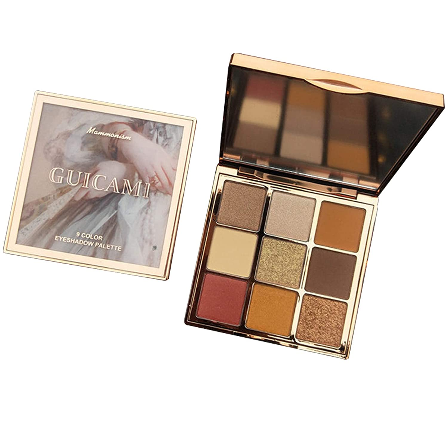 Eyeshadow Palette,Highly Pigmented Eye Makeup,Matte And Bright Vibrant Colors Cosmetics Set (nude)