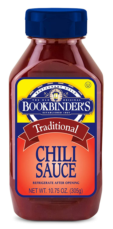 Bookbinder'S Chili Sauce 10.75 Oz.