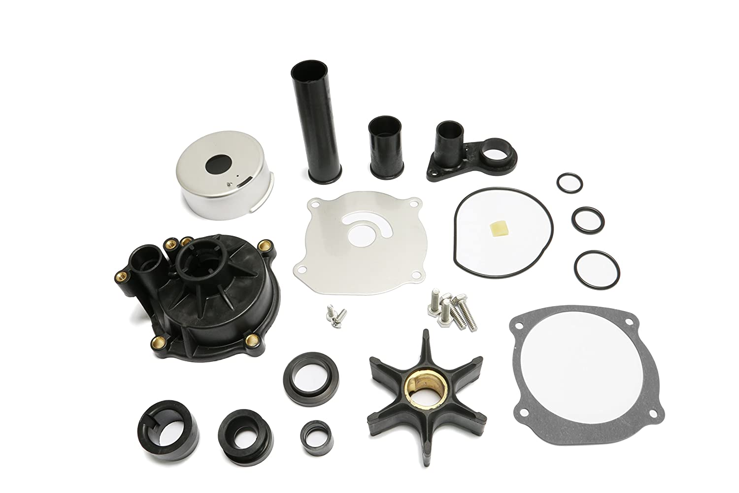 Createshao Outboard Water Pump Kit for Johnson Evinrude Boat Engine 5001595 With Housing 75-250HP