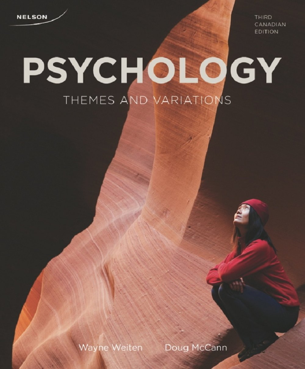 Psychology: Themes and Variations: Dr. Wayne Weiten, Dr. Doug McCann:  9780176503734: Psychotherapy: Amazon Canada