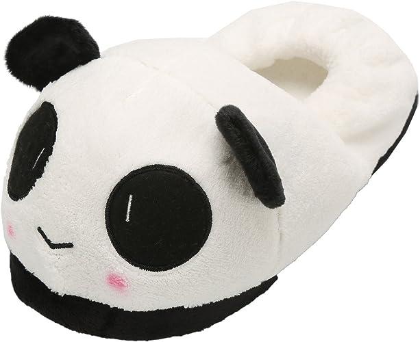 Cosy Panda Chaussons-Teen Taille Adulte Unisexe Confortable Cadeau de Noël Secret Santa