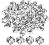 40 Pieces Silver Jingle Bells, borte 25mm New Jingle Bells Jumbo Jingle Bells Jingle Bell Beads for Crafts