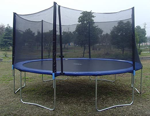 ... Set Will Provide Your Child With Hours Of Jumping Fun Thanks To A Heavy  Duty Galvanized Steel Frame That Is Rust Resistant And Suitable For Outdoor  Use.