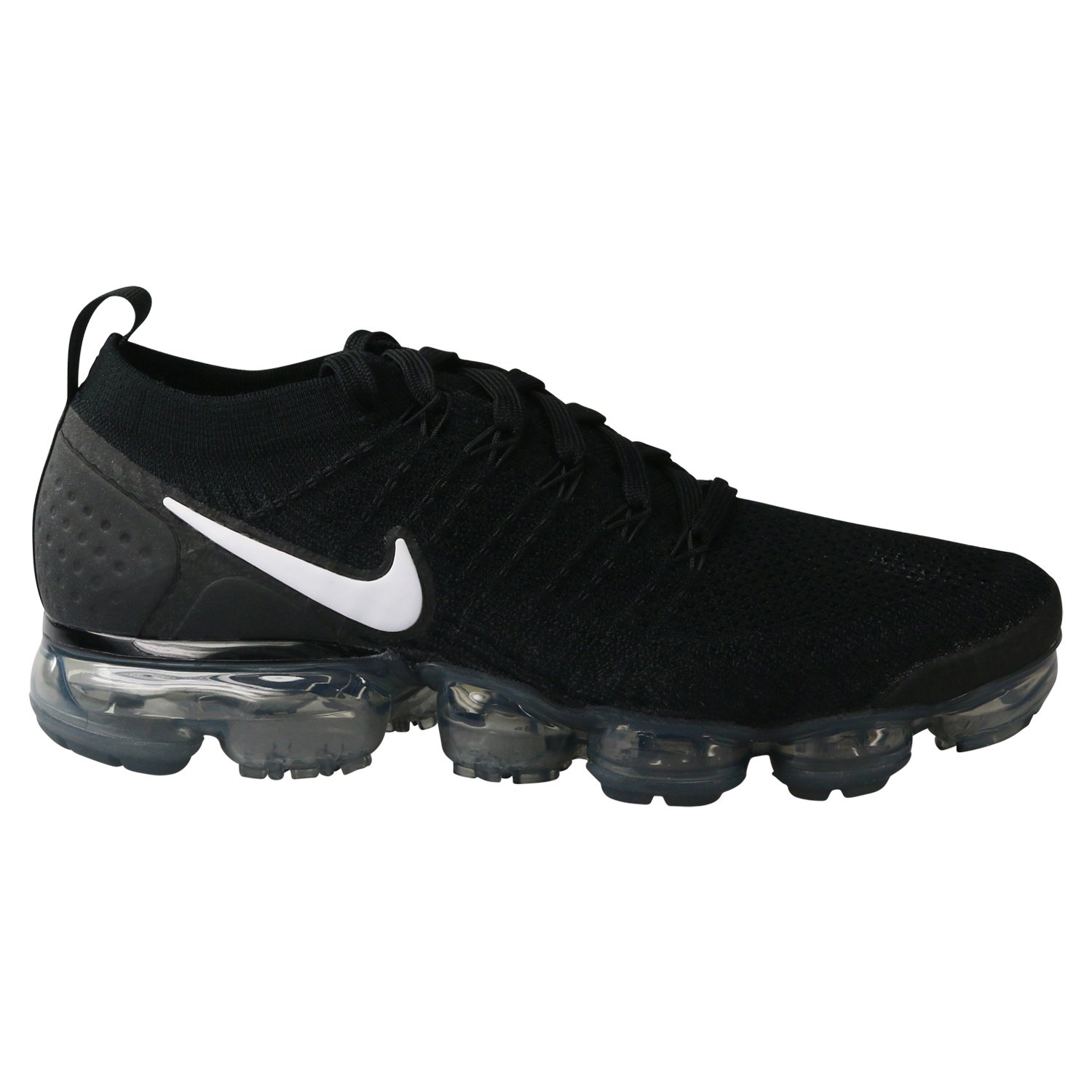sale retailer 85e6f dc1ce Nike Men's Air Vapormax Flyknit 2 Running Shoes (11.5, Black/White/Grey)